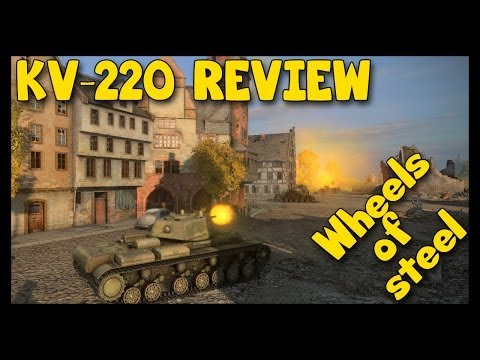 ► World of Tanks KV-220-2 Review, The God of Tier 5 and KV-220-2 Gameplay [Top Gun]