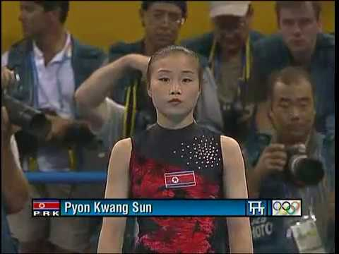 2004 Athens Olympics Uneven Bars Final BBC