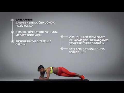 Plank Rotation Egzersizi Nasıl Yapılır?   Barcin.com
