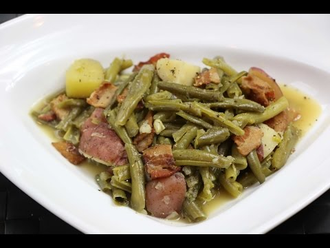 Green Beans and Potatoes Recipe - How to Make Southern Style String Beans and Potatoes