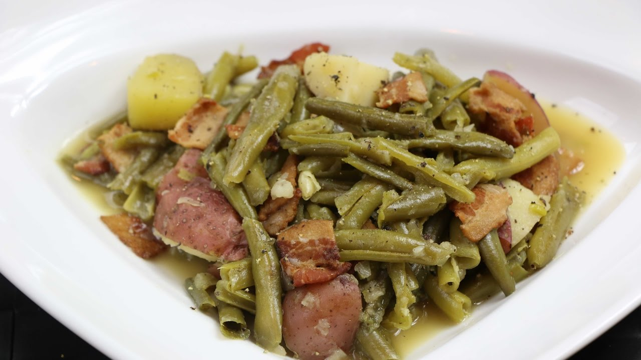 How To Make Soul Food Green Beans
