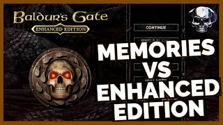 Baldur's Gate 1: My Memories vs The Enhanced Edition screenshot 5