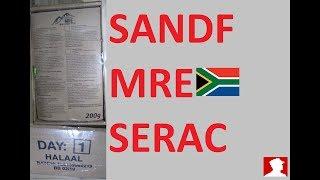 South African Ration Review:  SANDF 24H MRE Menu 1 New Use retort pouches.