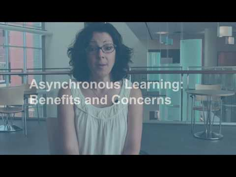 Synchronous & Asynchronous Learning in an Online C...