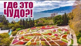 Крым. ПАРАД 100 000 ТЮЛЬПАНОВ 2019! НЕРЕАЛЬНАЯ КРАСОТА!Ялта, Никита, Ботанический сад. Отдых в Крыму