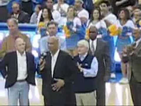 UCLA 1968 Basketball Championship Team honored Part 2 of 2