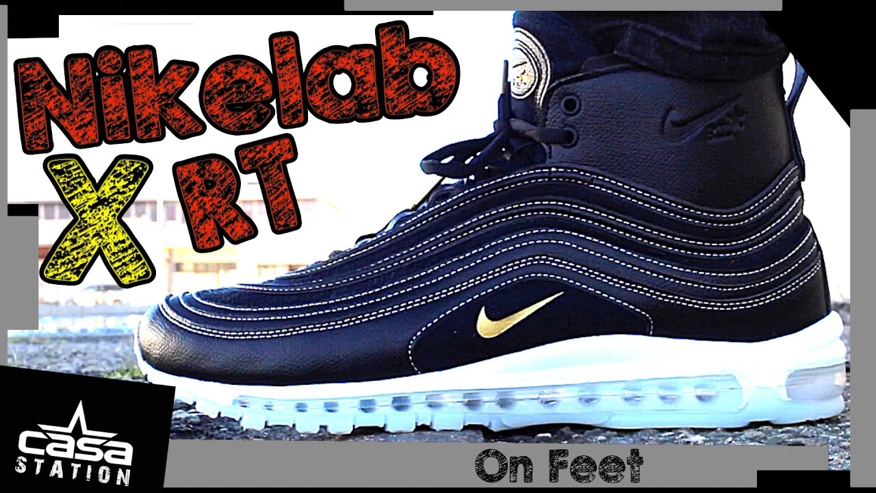 size 40 0041d 97633 best price nikelab air max 97 mid x riccardo tisci on feet cc076 8a08e