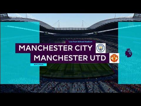 FIFA 18 | Premier League | Manchester City v Manchester Utd | Etihad Stadium