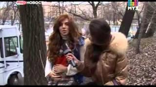 Съемки фильма Беременный. PRO-Новости(МУЗ-ТВ)