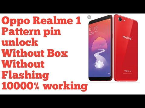 OPPO Realme 1 pattern unlock pin unlock by Miracle thunder 2 82 crack