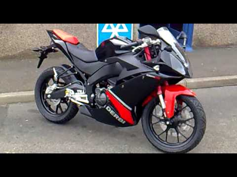 my derbi gpr 125cc 4t 2009 motorcycle youtube. Black Bedroom Furniture Sets. Home Design Ideas