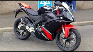 My Derbi Gpr 125cc 4t 2009 - MOTORCYCLE !!!