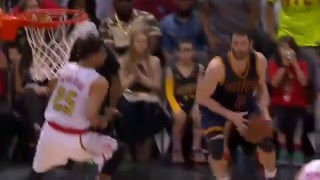 Kevin love shoots 8 three pointers