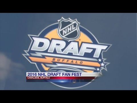 Thousands arrive in town as Buffalo is playing host for NHL Draft