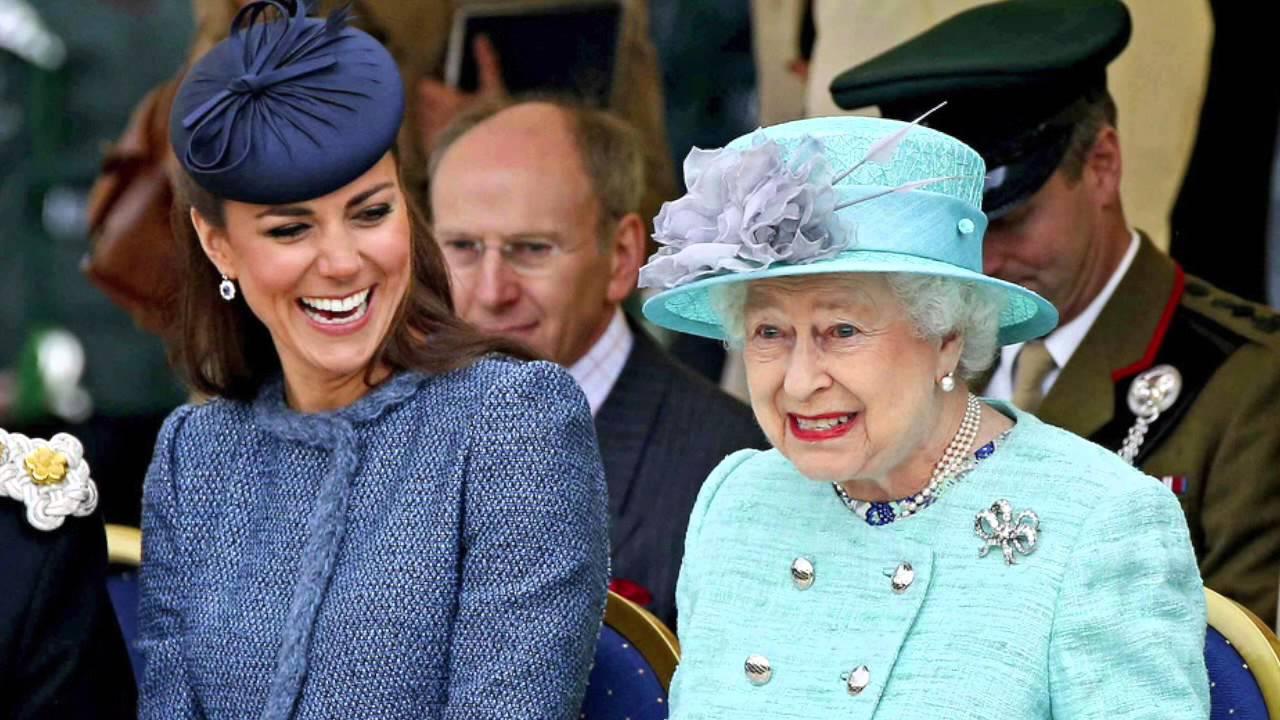 Картинки по запросу кейт миддлтон и королева елизавета