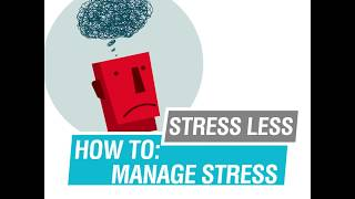 Watch this short video for tips on how to manage stress as a #uoft student. #healthyuoft transcript: less to: 43% of u t students...