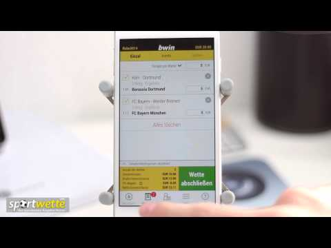 Video Sportwetten app bwin
