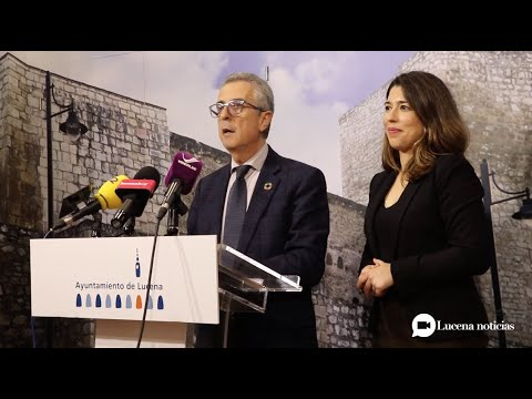 VÍDEO: El alcalde de Lucena, Juan Pérez, presenta las líneas generales de los Presupuestos 2020