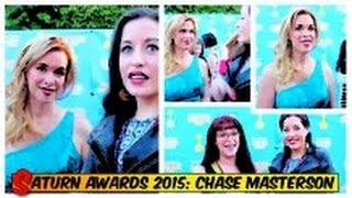 Chase Masterson gets Fashionably Nerdy at The Saturn Awards 2015