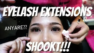 MY FIRST EYELASH EXTENSIONS EXPERIENCE! Masakit ba? (Philippines) | Vlog #12 ❤