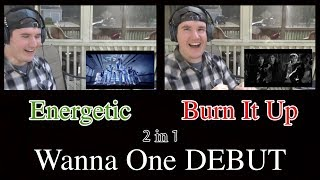 Video WANNA ONE DEBUT // Energetic & Burn It up REACTION download MP3, 3GP, MP4, WEBM, AVI, FLV Agustus 2017