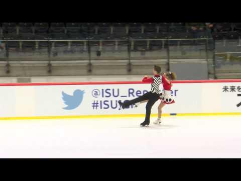 ISU 2014 Jr Grand Prix Tallinn Free Dance Christina CARREIRA / Anthony PONOMARENKO USA