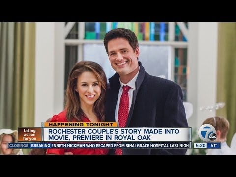 with Warren Christie and Lacey Chabert from