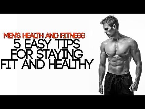 MEN'S HEALTH AND FITNESS | 5 EASY TIPS FOR STAYING HEALTHY | Mayank Bhattacharya