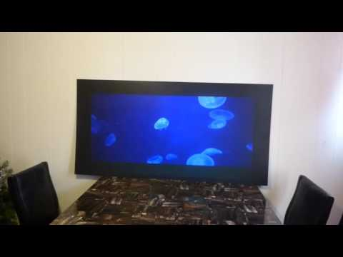 NEW FUSION BLACK JET BLACK HIGH CONTRAST PROJECTOR SCREENS FREE COLOR OPTION!