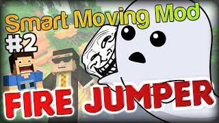 funny the invisible troll minecraft smart moving mod fire jumper part 2 w double and simon