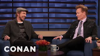 Dax Shepard Invites Conan Into His Bed - CONAN on TBS