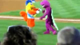 Best Mascot Battle EVER!