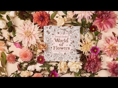 World of Flowers : A Colouring Book and Floral Adventure thumbnail
