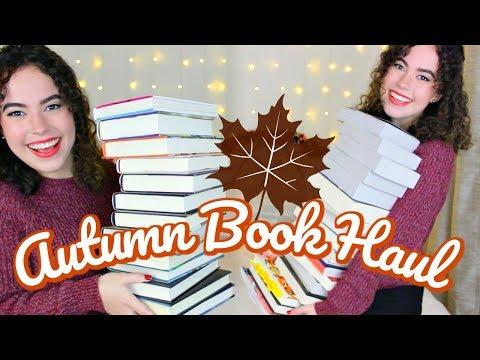 MASSIVE AUTUMN BOOK HAUL | 35+ BOOKS