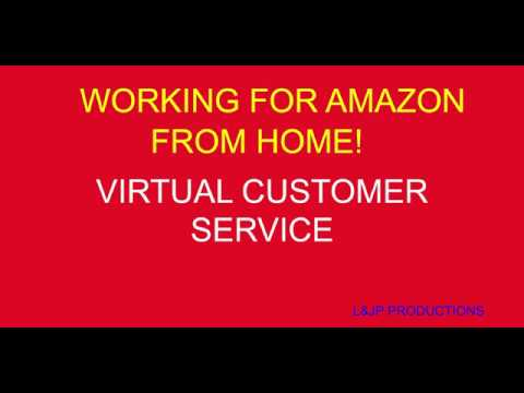 Working For Amazon From Home Virtual Customer Service Review 2018