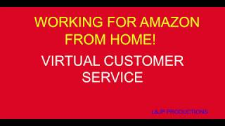 Working for Amazon From Home!  Virtual Customer Service Review 2018!