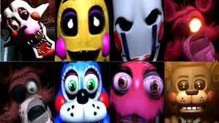 FNAF VR Help Wanted - ALL FNAF 2 JUMPSCARES