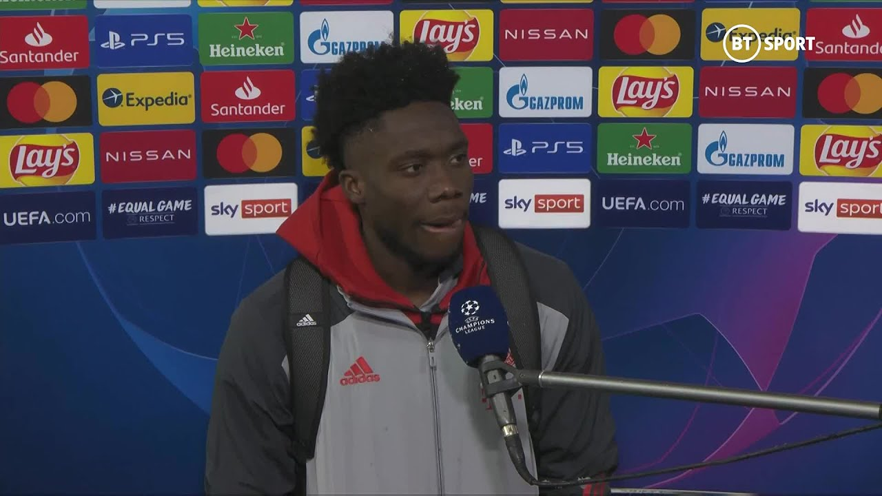 """We had 31 chances. Overall we did well."" Alphonso Davies rues missed Bayern opportunities..."