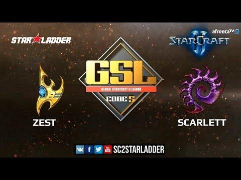 2018 GSL Season 1 Ro16 Group A Match 2: Zest (P) vs Scarlett (Z)