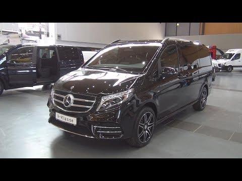 Mercedes Benz V 250 d Exclusive 4MATIC 2018 Exterior and Interior