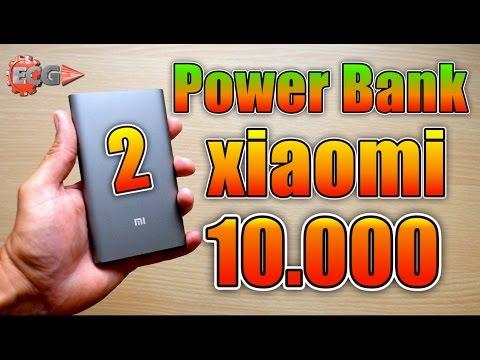 Power Bank Xiaomi 10.000 mAh 2 generación