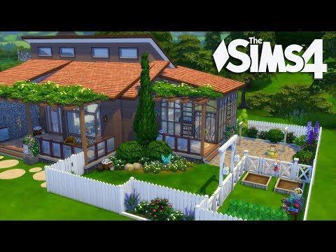 The Sims 4 - Laundry Day Stuff House Build (Final) Realtime