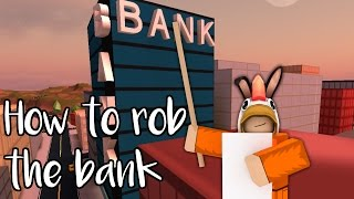 Roblox┆How to rob the bank in jailbreak