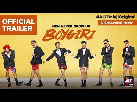 Boygiri   Streaming Now   #ALTBalajiOriginal   Amey, Divyang, Ajeet, Chaitnya, Adhaar, Mantra
