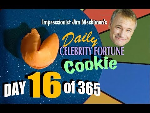 Your Daily Fortune! In Celebrity Voices by Impressionist Jim Meskimen | #16