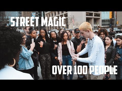 Doing Magic To Our Biggest Crowd Ever (Philly Street Magic Ep. 4) | The Prophets Magic