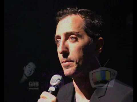 Gad Elmaleh -Waldeck Euro Tv News Part 1 ENG SUB