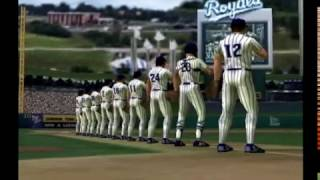 All-Star Baseball 2000 Full Game - Texas Rangers vs. New York Yankees (N64)