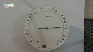 7 кл - 14. Барометр анероид.  Атмосферное давление на разных высотах