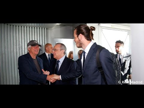 Richard Gere travelled to Milan with the team